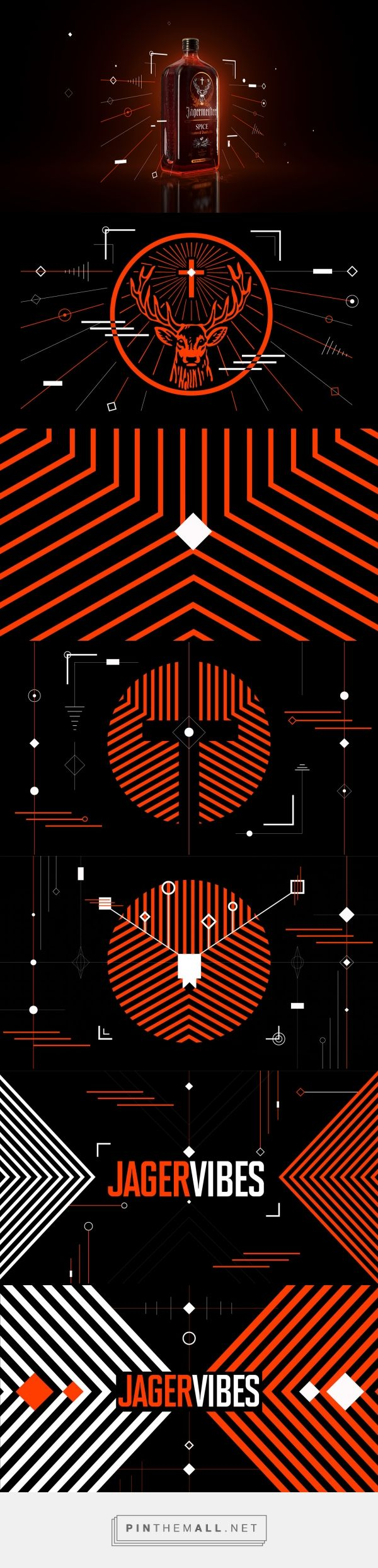 Jagermeister on Behance - created via https://pinthemall.net