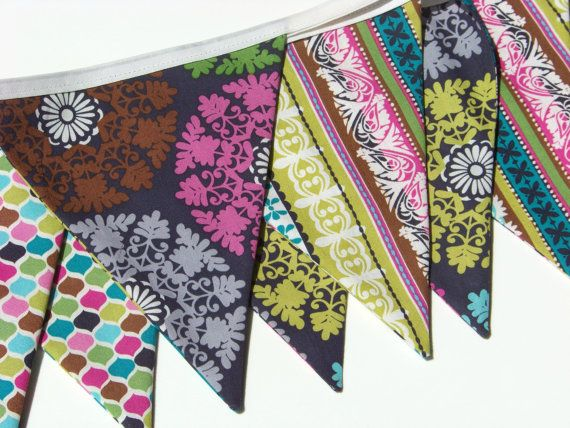Fabric Banner Bunting Flags