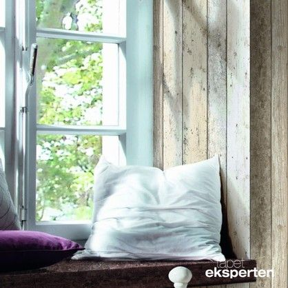 Scrapwood pale blue  - vintage tapet - 8550-39