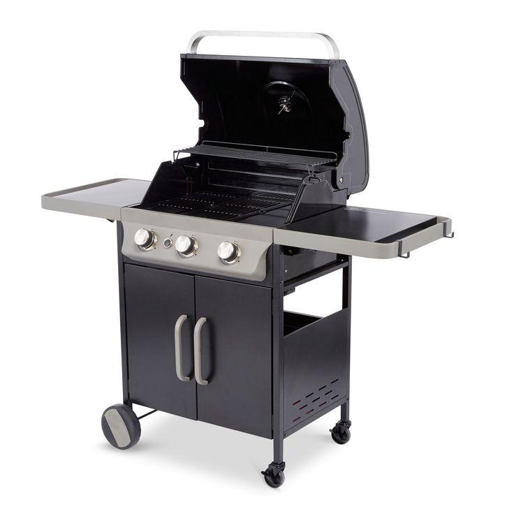 Blooma G46301 Barker 3 Burner Butane or Propane Gas Barbecue | Departments | DIY at B&Q