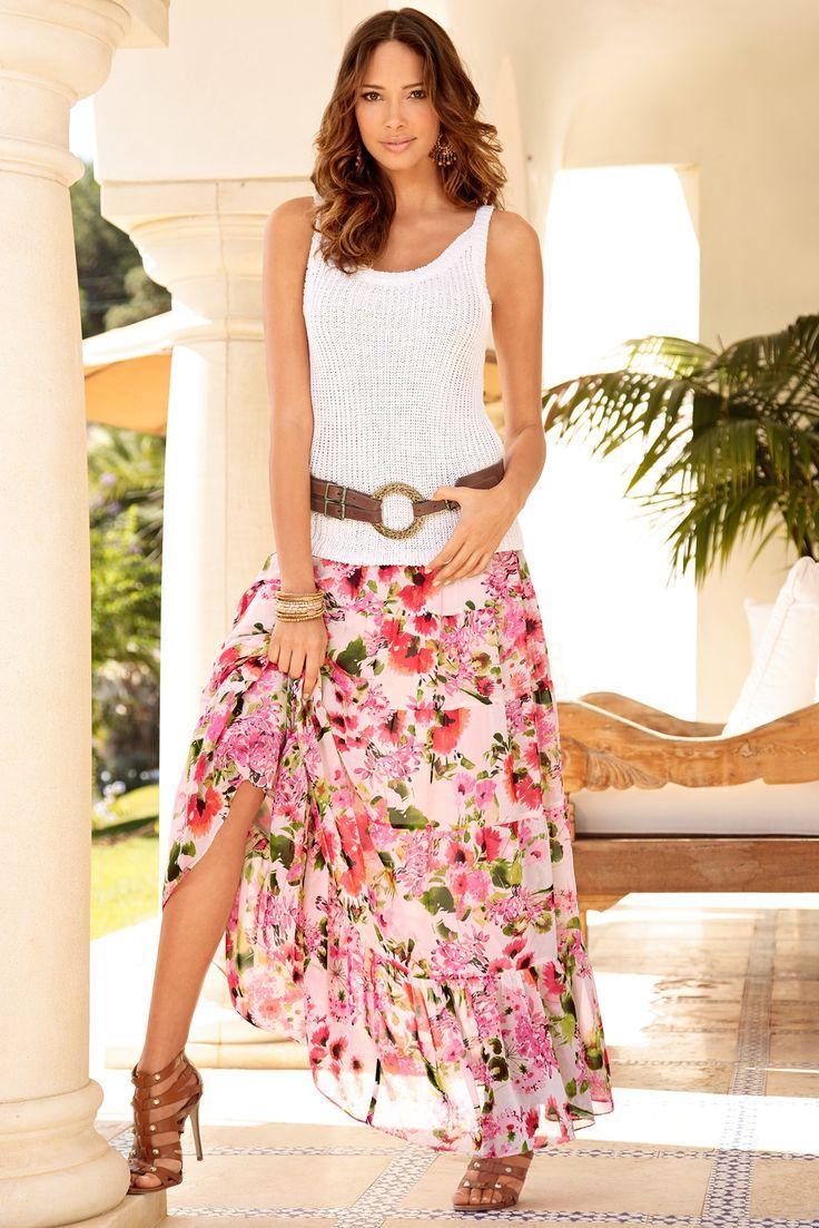 45 best Favs - Skirts - Maxi images on Pinterest | Skirts, Dress ...