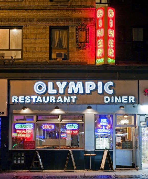 James and Karla Murray Photography: Olympic Diner R.I.P. Hell's Kitchen, Manhattan, NY...