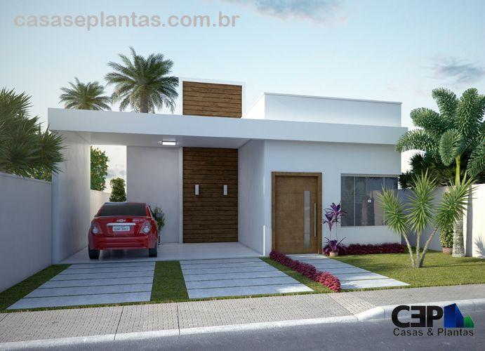 1000 ideias sobre casa sem telhado no pinterest for Modelos de casas de una planta modernas