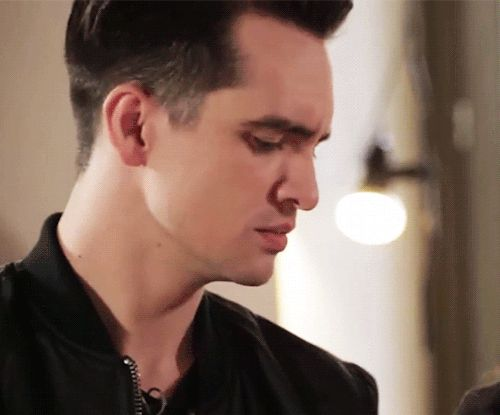 When Brendon hits a high note