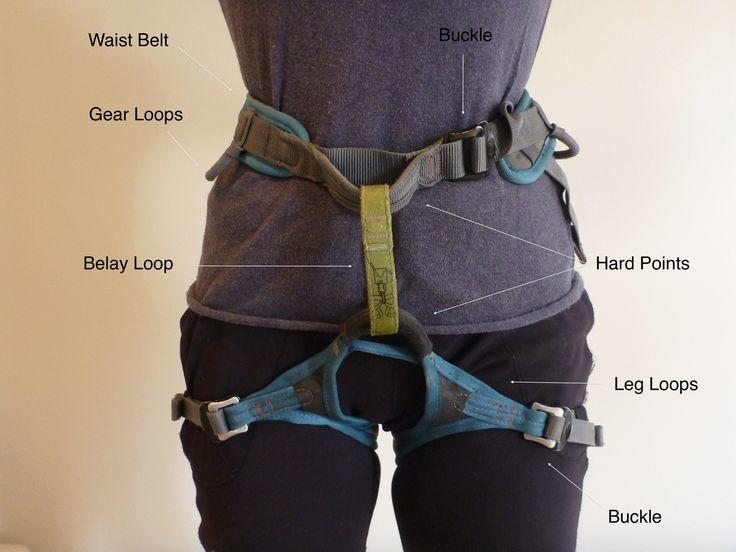 Seeking Exposure - Rock Climbing - Climbing Harness - Front