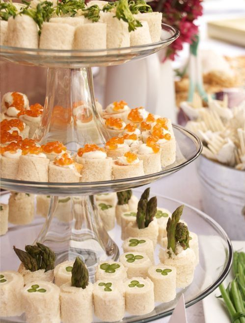 tea sandwiches....incredible ideas for entertaining! by mmonet