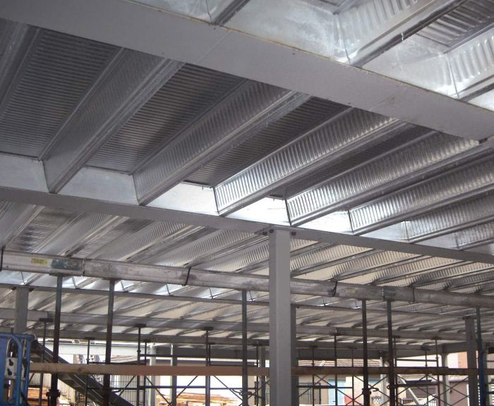 Thinflor Composite Floor System Building Systems