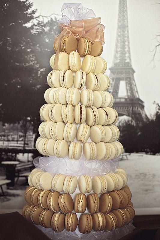 ♥piéce monteé de macarons♥ Paris♥