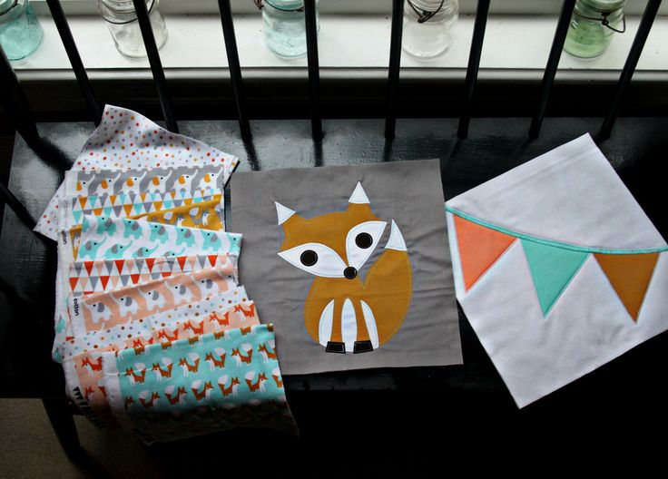 Woodland Celebration Baby Quilt   Flickr - Photo Sharing!