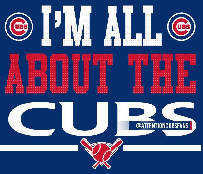 Are you All About the Cubs??!!!