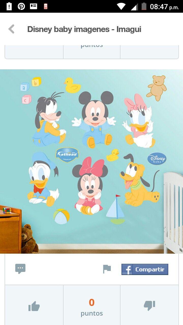 40 best vinilos infantiles y pegatinas decorativas para disney wall stickers disney baby mickey and friends wall sticker wall