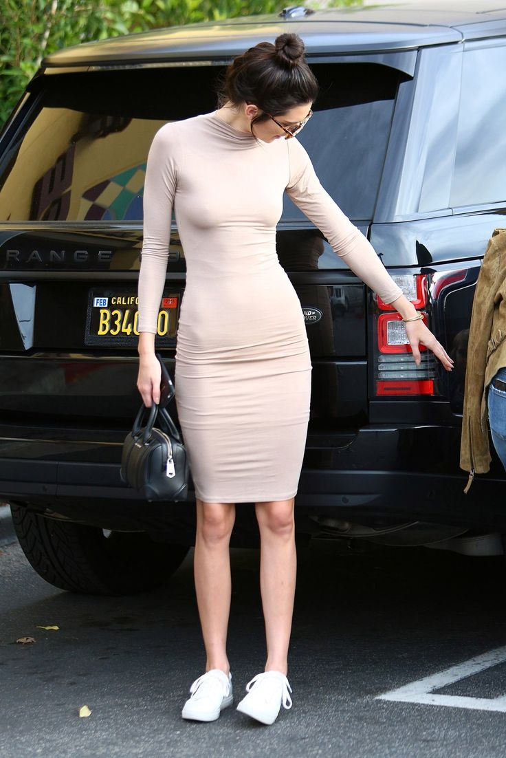 Get the look for less models edition — Kendall Jenner get the look for less Nude midi...