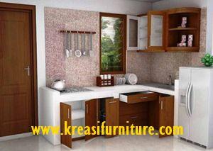 Kitchen Set Minimalis Simpel merupakan kitchen set yang bergaya minimalis dengan bahan dasar MDF pilihan dengan kontruksi yang kuat dan tahan lama