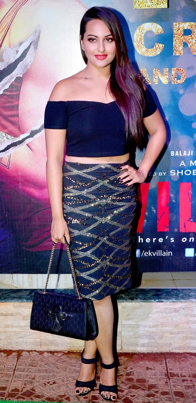 Sonakshi Sinha at the success bash of 'Ek Villain' #Style #Bollywood #Fashion #Beauty