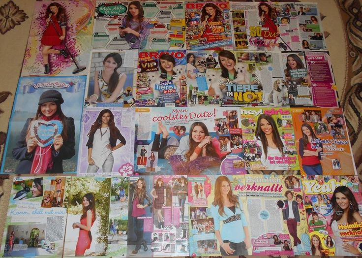 Victoria Justice - Magazine Posters / Clippings Big Collection # 4