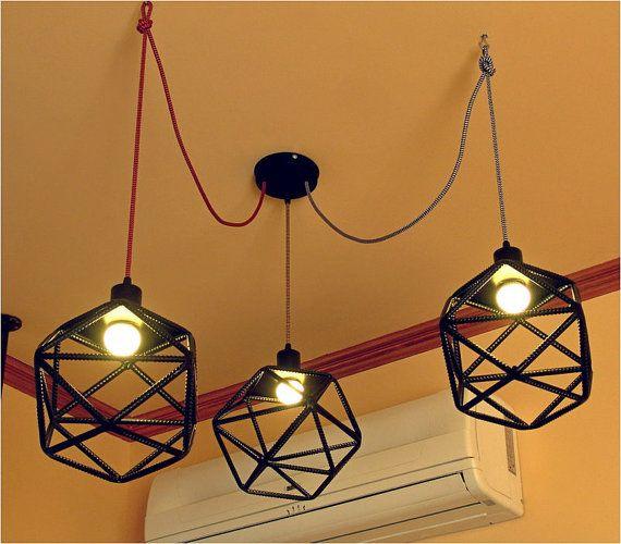 die besten 25 textilkabel lampe ideen auf pinterest. Black Bedroom Furniture Sets. Home Design Ideas