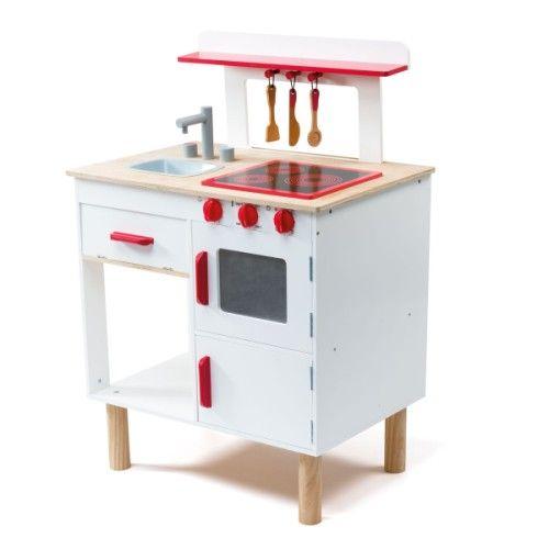 grande cuisini re en bois oxybul pour enfant de 3 ans 8 ans prix promo cuisine oxybul veil et. Black Bedroom Furniture Sets. Home Design Ideas