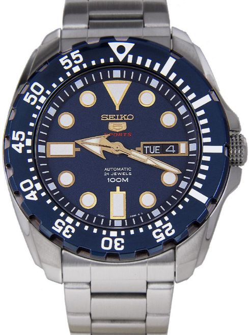Seiko 5 Sports Men's Automatic Watch SRP605, SRP605K1 - In Stock, Free Next Day Delivery, Our Price: £199.99, Buy Online Now