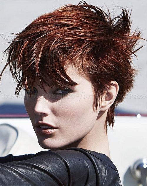 beautiful women's faux hawk