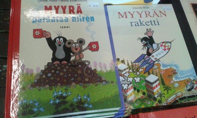 Czech Mole is very popular here // Náš Krteček je tu velmi oblíbený #Finland #mole