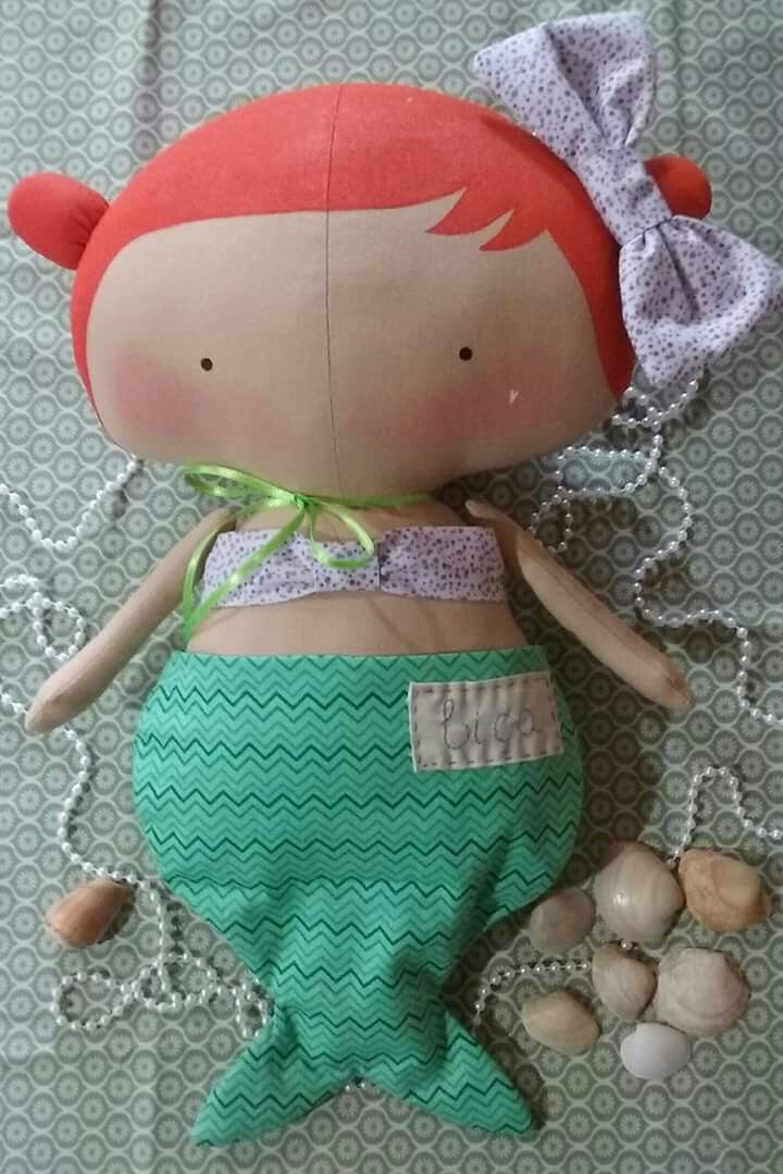 a mermaid sweetheart tilda? oh so cute!...
