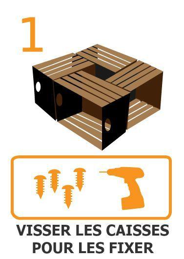 Construisez votre table avec des caisses en bois! Construisez en une heure une table recyclée pour votre maison juste avec un Marteau Perforateur Makita et des caisses recyclées, en suivant les étapes de Tools4pro!  #Diy   #inspiration   #bricolage   #astuces   #recylez  #ecologie  #decoration  #maison  #travaux http://fr.tools4pro.com