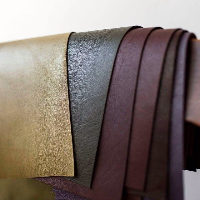 Leather accents for our goodies... ;) #leather #clutchpurse #nature #natural #sewing