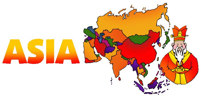 Asia - Free Lesson Plans & Games for Kids from Mr Donn