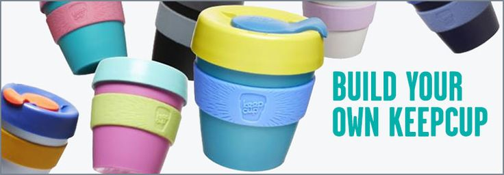 The KeepCup is the world's first barista standard reusable takeaway coffee cup. Reusable travel cup, with promotional branding available.