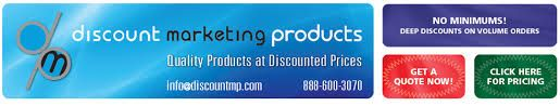 Discount Marketing Products offers premium advertising and custom marketing products includes marketing banners, Signs any shape and size for indoor and outdoor application, Flag banners, Tent and many more at attractive discount offer.