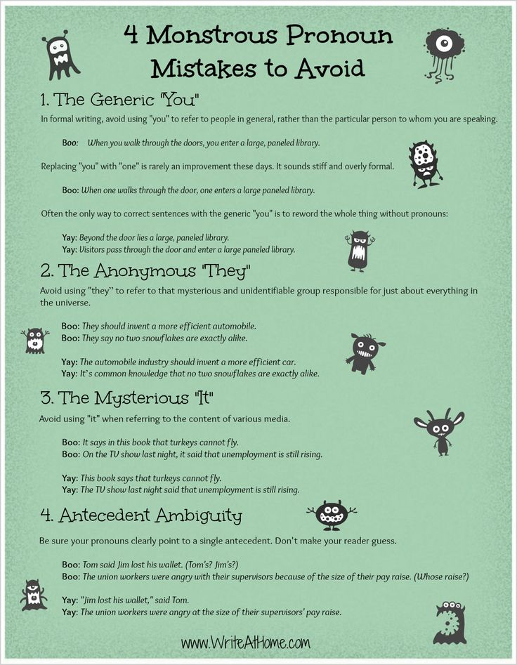 best writing editing and revising images  4 pronoun mistakes to avoid