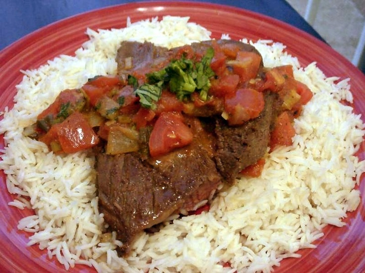 Carne con Hogao (Steak with Colombian Tomato-Scallion Sauce)