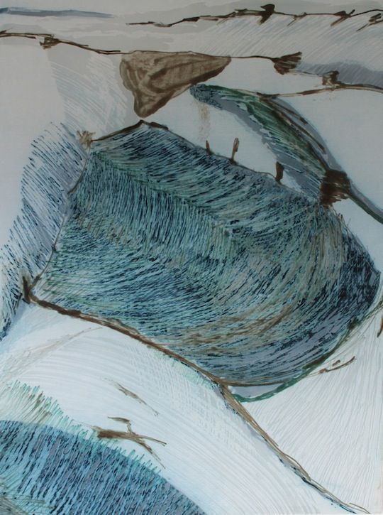 Textile art by contemporary artist Dionne Swift