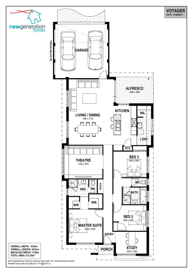 53 best building rear load plans images on pinterest for Rear access home designs