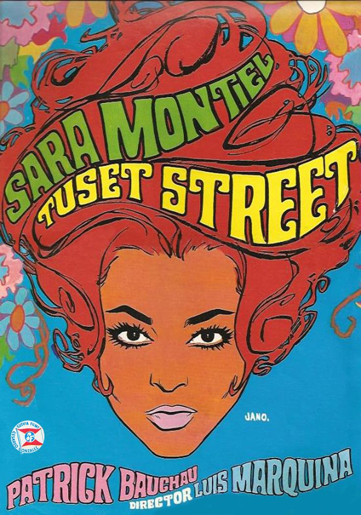 """Tuset Street"" (1968). País: España. Director: Luis Marquina. Reparto: Sara Montiel (AKA Sarita Montiel), Patrick Bauchau"