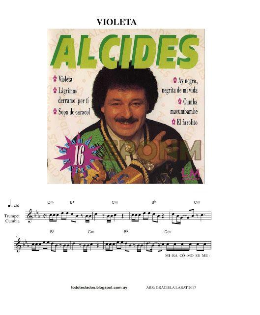 """TODO TECLADOS: """"VIOLETA"""" ALCIDES"""