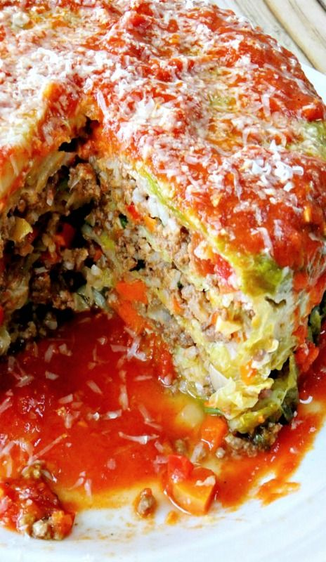 Stuffed Cabbage Cake - The perfect dish for a potluck or party