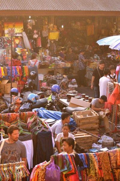 Market in Ubud-Bali