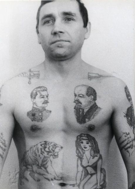 Gangs Tattoo Russian