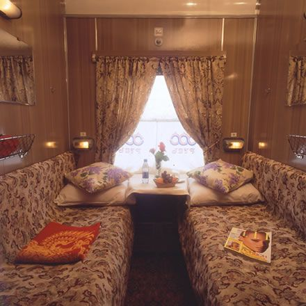 Room on the Trans Siberian