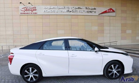 RTA starts trial run of region's first hydrogen fuel-cell electric vehicle