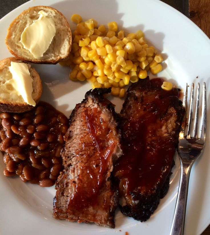 Ron and Kim's smoked beef brisket.  Stacy, MN