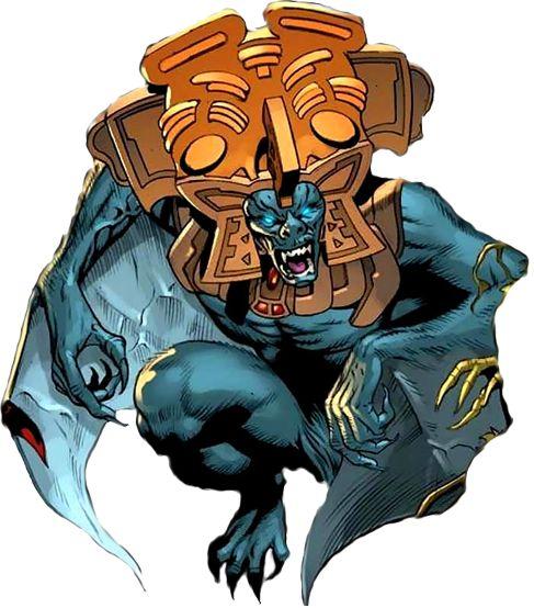 Camazotz, Servidor de la Muerte, dios murciélago de la mitología maya fue el maestro de los misterios de la vida y de la muerte. Simbolizaba la noche, la muerte y el sacrificio. Los mayas representaban a Zotz, Camazotz, como un ser humano con cabeza...