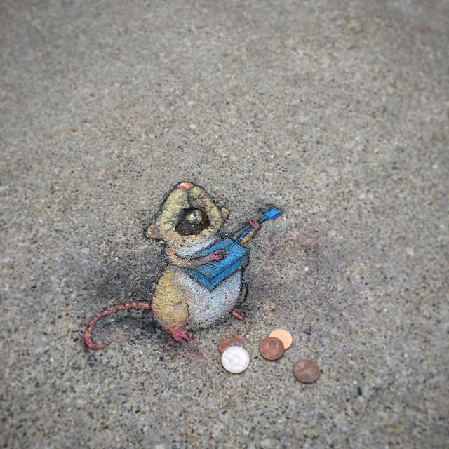 El street art de David Zinn