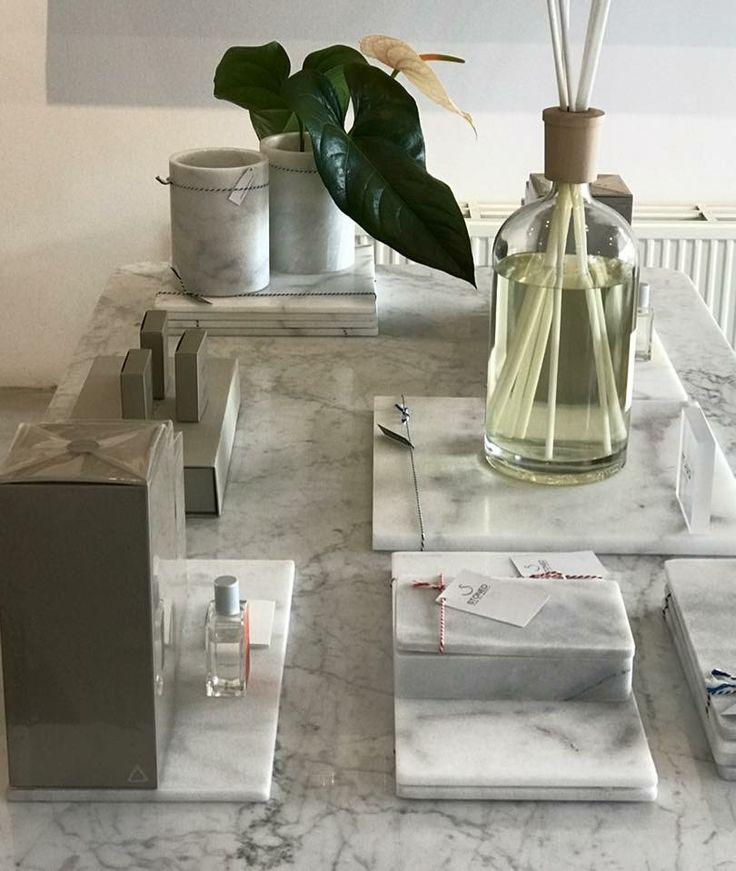 Culti Milano huisparfum geurstokjes en roomspray   Stoned Marble