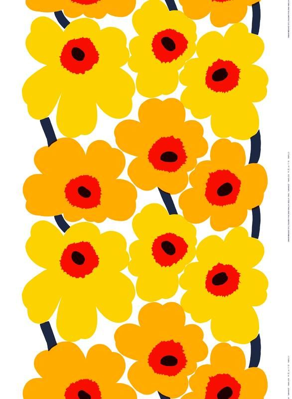 Marimekko 2014: Unikko pattern anniversary + Banana Republic capsule collection