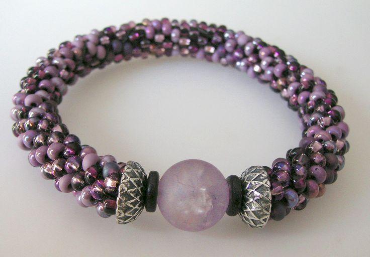Kumihimo Patterns Using Seed Beads | Bead Crochet Rope Bracelet