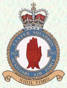 No 502 Squadron Badge. Reactivated for first time since WWII & returning to…