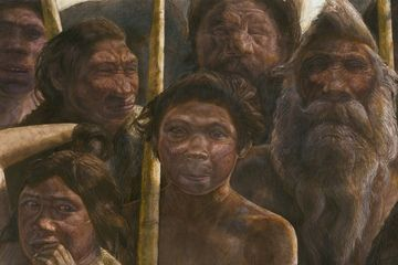 Oldest Human DNA Reveals Mysterious Branch of Humanity.  The oldest known human DNA found yet reveals human evolution was even more confusing than thought, researchers say.  The DNA, which dates back some 400,000 years, may belong to an unknown human ancestor, say scientists. These new findings could shed light on a mysterious extinct branch of humanity known asDenisovans, who were close relatives of Neanderthals, scientists added.
