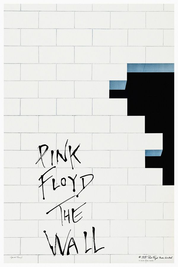 Pink Floyd The Wall Album 1979 Pink Floyd Poster Pink Floyd Wallpaper Pink Floyd Art